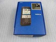 Nokia e5-00 carbon Black! nuevo con embalaje original! sin bloqueo SIM! OVP! QWERTZ! #46
