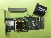 Adaptec ASR-5805Z 8 Internal Port SAS/SATA2 PCIe 512MB  RAID Controller+Battery