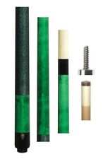 New McDermott GS05 Cue - 12.75mm Shaft - Green Stain - FREE 1x1 Hard Case