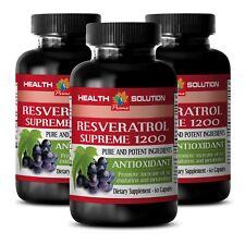 antioxidant formula - RESVERATROL SUPREME 1200mg - multivitamin capsules 3B