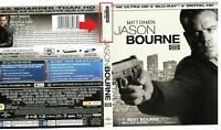 Jason Bourne 4kUHD + BluRay Matt Damon, Tommy Lee Jones, Alicia Vikander, Julia