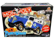 SKILL 2 SNAP MODEL KIT 1933 WILLYS PADDY WAGON POLICE MONOPOLY 1/25 MPC MPC924 M