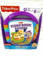 Fisher-Price Laugh & Learn Storybook Rhymes Music Developmental Baby Toy New