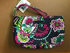 Vera Bradley wallet wristlet petal paisley zipper top never used still has tag