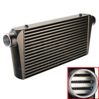Intercooler 600X300X76 mm Front Mount 3'' Outlet/Inlet For Universal Bar & Plate