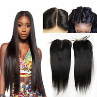 """Pre plucked Brazilian Human Hair Lace frontal for Wig silk lace Closure 4*4"""""""