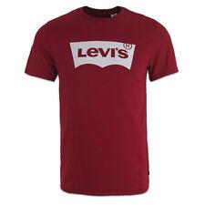 Ropa de hombre rojos Levi's 100% algodón