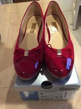 Gabor Patent Leather Ballet Flats for Women
