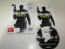 "Call Of Duty Modern Warfare 3 For Nintendo Wii ""Get It Fast & Free"""