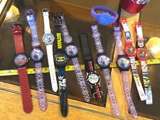 Broken Watch Watches Wristwatches Bundle Job Lot Batman Spider-Man Frozen x11