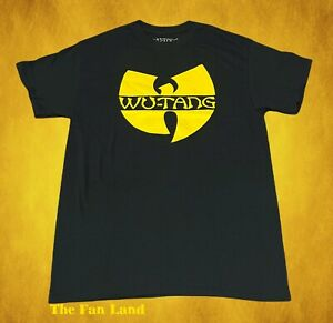 New Wu-Tang Clan Logo Mens Classic Vintage Concert Rap T-shirt