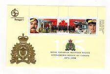 Canada 1998 RCMP Portugal '98 souvenir sheet. Unitrade #1737d VFMNH CV $6.00