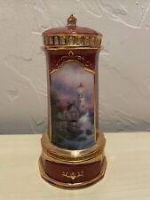 Thomas Kinkade Seaside Reflections Lighthouse Music Box
