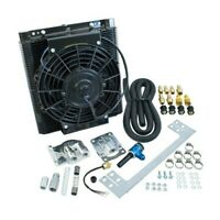 Oil Cooler Kit, 96 Plate Mesa Style, With Electric Fan, Dunebuggy & VW