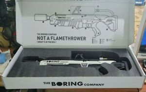 The Boring Company Not a Flamethrower w/$5 certificate