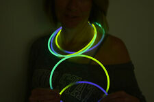 DirectGlow 150ct Purple/Green/Yellow 22 inch Glow Stick Necklaces & Connectors