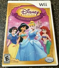 Disney Princess Enchanted Journey Game - Nintendo Wii - Complete w/ Manual