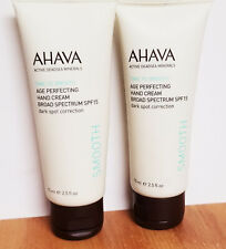 AHAVA Smooth Age Perfecting Hand Cream Dark Spot Corrector ~ 2.5 oz. (2 Pack)