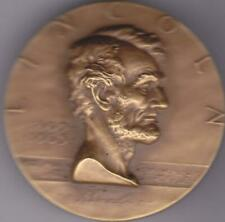 Abraham Lincoln Hall of Fame for Great Americans Medal 1963 by A. de Francisci
