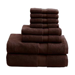 8 Pcs Bale Set 100% Cotton Ring Spun Extra Soft &Absorbent Face Hand Bath Towel