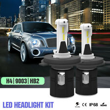 2x LED Headlight Kit 9003 H4 Hi/Low 6000K CREE Hi Lo for 2007-2011 Nissan VERSA