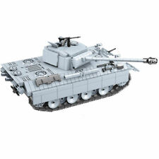 Military Heavy Panzer Tank Equipment Vehicle Building Blocks Brick Children Toys
