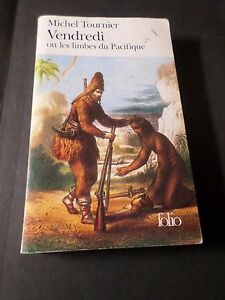 Book Michel Tournier Friday', Folio,No No 959