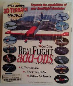 Great Planes Real Flight Add-Ons Vol1 GPMZ4100 Simulator 1998 RARE VHTF NOS Seal