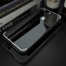 For iPhone X 5s 6 7 8 Plus Case Ultra Mirror Back Soft Silicone TPU Bumper Cover