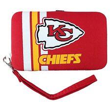 Littlearth Kansas City Chiefs Shell Wristlet 3.5 x 0.5 x 6-Inch, Red