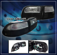 FOR 1992-1995 CIVIC HATCHBACK 3DR TAIL BRAKE LIGHT LAMP JDM SMOKE LENS 1993 1994
