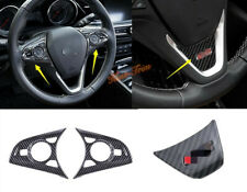 Fit For Buick Regal 2018-2020 Auto Steering Wheel Panel Garnish Cover Trim 3PCS