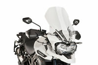TRIUMPH TIGER EXPLORER 1200 2016 > PUIG SCREEN CLEAR TOURING WINDSCREEN