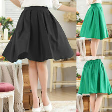 Chiffon Patternless Pleated, Kilt Skirts for Women