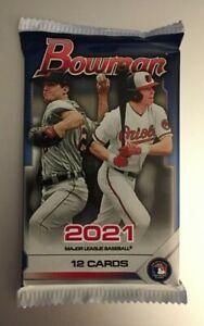2021 BOWMAN MLB BASEBALL #ed Refractor or Chrome Auto HOT PACK Martin? Red!?