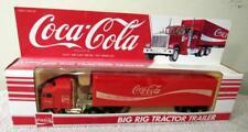 """HARTOY """"COCA-COLA"""" DIE-CAST METAL BIG RIG TRACTOR TRAILER TRUCK #3300C"""