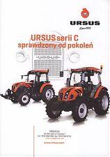 Ursus C350 C360 C380 02 / 2015 catalogue brochure tracteur Traktor tractor