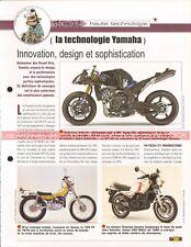 Technique YAMAHA RDLC TY R1 FZ DTMX GTS Joe Bar Team Fiche Moto #007303