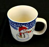 THOMSON POTTERY Snowman China, Coffee Mug, Excellent condition