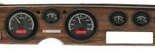 1970-81 Pontiac Firebird Black Alloy & Red Dakota Digital Analog Dash Gauge Kit