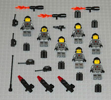 LEGO Minifigures 7 Space Marines Army People Blasters Police Minifigs Halo Guys