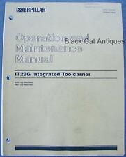 1998 Caterpillar Operation/Maintenance Manual IT28G Integrated Toolcarrier 182p