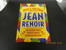 Jean Renoir Stage & Spectacle 3xDVD Box Set Used Criterion Collection See Detail