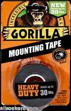 Gorilla Mounting Tape 30# Heavy Duty Indoor Outdoor Double Sided Weatherproof