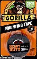 Gorilla Mounting Tape 30# Heavy Duty Indoor Outdoor Double Sided Weatherproof