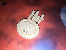 Star Trek Micro Machines Future USS 1701-D 3 Nacells Space Wars Ship RARE!!!