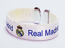 REAL MADRID BRACELET WRISTBAND OFFICIAL LICENCED ACCESSORY SOUVENIR GIFT