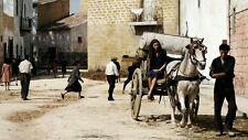 Fotografia Scena Film Baaria Bellissima Scena Giuseppe Tornatore Sicilia Italy