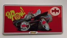 Mean Machines Batmobile Door / Wall Plaque - metal, with fixing pads 30 x 15cm