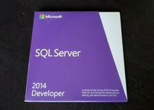 Microsoft SQL Server 2014 Standard Developer E32-01098 BRAND NEW SEALED
